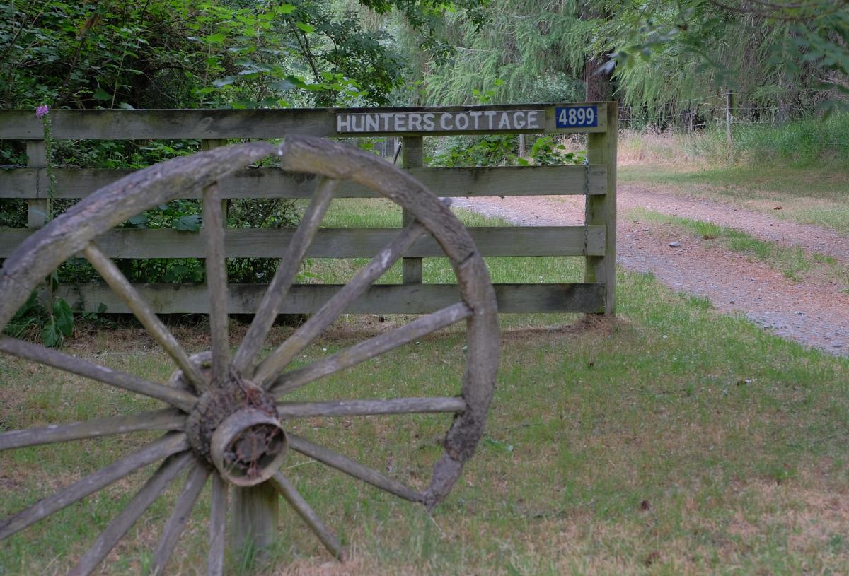 Hunter's Cottage Entrance